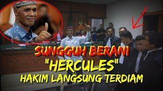 Video Sungguh Berani! Usai Sidang, Hercules Berkata Seperti Ini, Hakim dan Jaksa Terdiam MP3, 3GP, MP4, WEBM, AVI, FLV April 2019