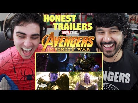 Honest Trailers - AVENGERS: INFINITY WAR - REACTION!!!
