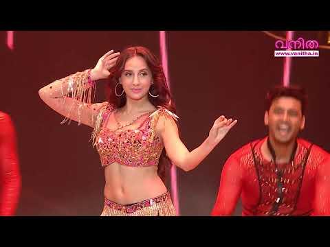 Dancing Queen NORA FATEHI glamorous Performance @ Vanitha Film Awards 2020 Part 26