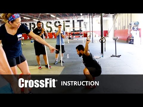 Overhead - CrossFit - (http://crossfit.com) The CrossFit Games® - The Sport of Fitness™ The Fittest On Earth™