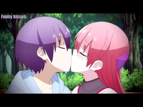 Funny Cute Kisses in Anime moments アニメ面白いキス