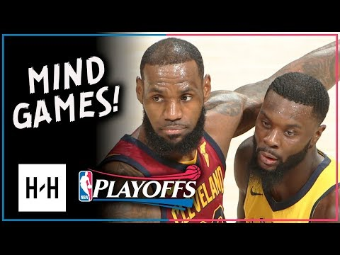 Lance Stephenson MIND GAMES with LeBron, Full Game 4 Highlights vs Cavaliers 2018 Playoffs - 11 Pts!