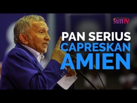 PAN Serius Capreskan Amien