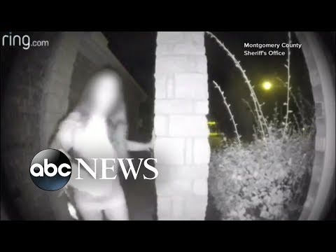 Police identify mystery woman caught on camera ringing doorbell