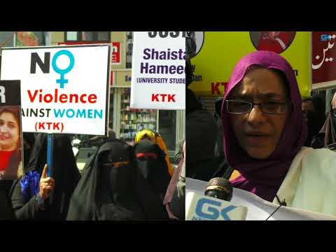 Kashmiri women protest, demand justice for Asifa, other victims
