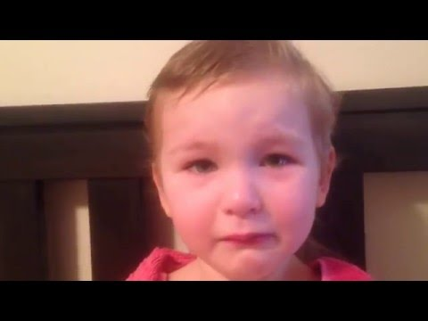Kid Tearfully Explains Her New Mullet