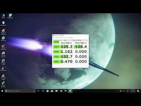 Maxtor M3 External Hard disk Benchmark Speed Test ( Manufactured by Seagate )