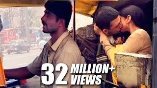XxX Hot Indian SeX Mumbai Autowallas On Couples Kissing In Rickshaw .3gp mp4 Tamil Video