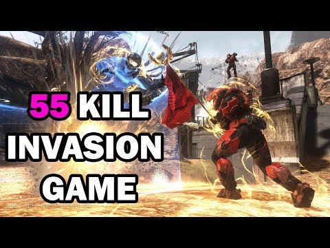 HALO Reach PC - INSANE 55 KILL GAMEPLAY - The Master Chief Collection