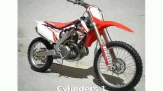 3. 2009 Honda CRF 450R Walkaround