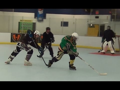 Shadows vs. Ducks – Period 1 (3/11/14) Roller Hockey Dangles Dekes Moves Skills Goals HD