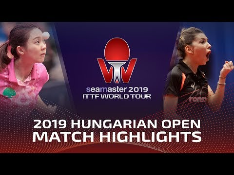 Bernadette Szocs Vs Cheng Hsien-Tzu | 2019 Hungarian Open Highlights (R32)