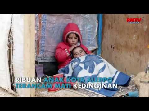 Ribuan Anak Aleppo Terancam Mati Kedinginan