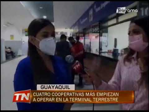 Cuatro cooperativas más empiezan a operar en la terminal terrestre