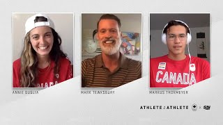 Mark Tewksbury, Annie Guglia and Markus Thormeyer Talk About embracing who you are   Athlete2Athlete by Sportsnet Canada