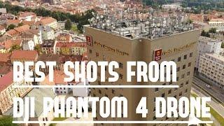 My best top shots from dji phantom 4 drone, over czech republic, ceske budejovice and around.