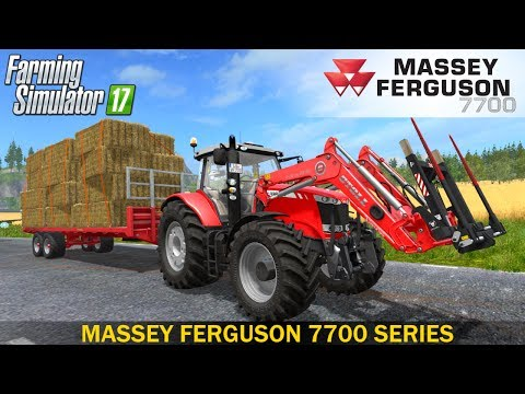 Massey Ferguson 7700 More Realistic v2