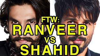 Video For The Win: Ranveer Singh vs Shahid Kapoor MP3, 3GP, MP4, WEBM, AVI, FLV September 2019