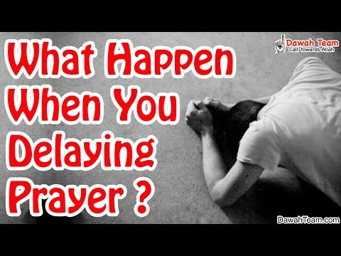What Happen When You Delaying Prayer ? ᴴᴰ ┇Mufti Menk┇ Dawah Team