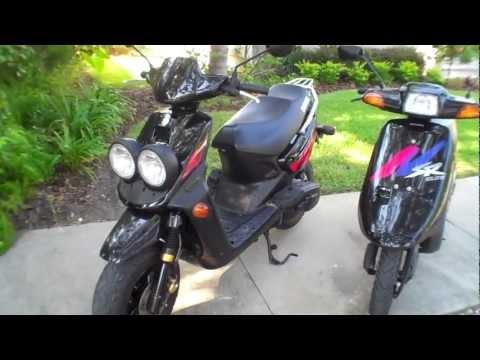 Yamaha Zuma VS Honda Elite scooters Side By Side comparison