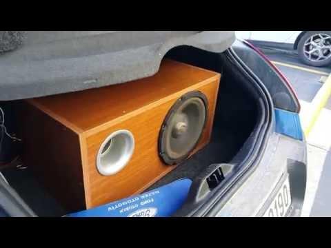 Car audio pioneer impp and xetec 1500.1 mono Amp