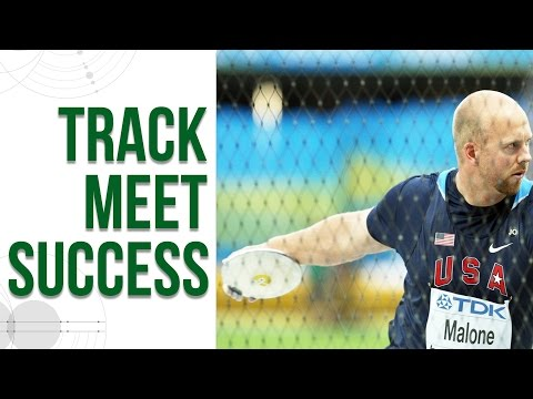 Discus Throw - Track Meet Success and Setting PRs