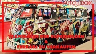 AUTO BOXX (2019): Paul Walker - Tom Holland - Ferrari - VW Bulli by Auto Bild