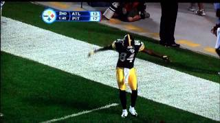 Antonio Brown's touchdown dance video.  The best on YouTube!!!