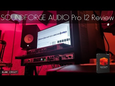 SOUND FORGE Pro 12: Review! What's NEW?
