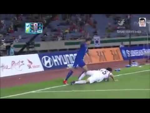 south - FootBall Man Asian Games 2014-] South Korea vs Thailand [-Why no Penalty-] ???
