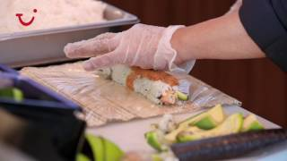 Watch our chefs create beautiful sushi dishes in this this behind-the-scenes video, filmed in our pan-Asian restaurant, Kora La, onboard TUI Discovery 2. The menu here's full of east Asian and Indian favourites, like spiced king prawns and beef rendang curry. Kora La is exclusive to Thomson Cruises, and can be found on both our  TUI Discovery and TUI Discovery 2 ships,  as well as our Thomson Celebration ship. Get a taste of the other dining options available on TUI Discovery 2 at http://www.thomson.co.uk/cruise/ships/tui-discovery-2/dining/. Or, search our deals pages to find a cruise getaway for this summer – http://www.thomson.co.uk/destinations/info/summer-2017-cruises Then connect with us via:https://www.instagram.com/thomsoncruises https://www.facebook.com/thomsoncruises
