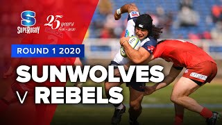 Sunwolves v Rebels Rd.1 2020 Super rugby video highlights | Super Rugby Video Highlights
