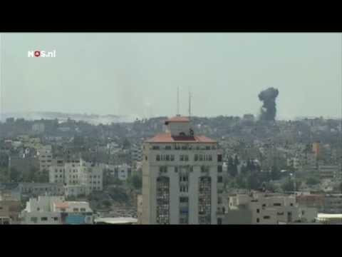 Beschietingen Gaza gaan door, Kerry werkt aan bestand