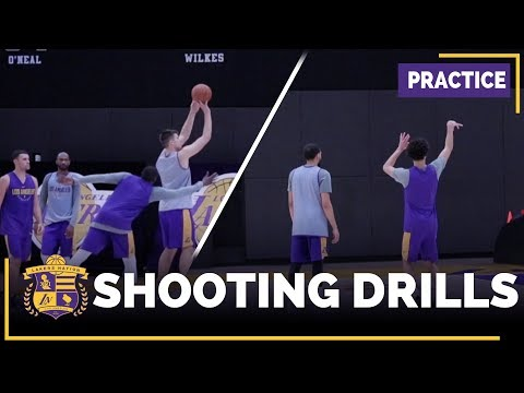 Video: Lakers Practice Footage: Lonzo Ball, Tyler Ennis, Larry Nance, Ivica Zubac