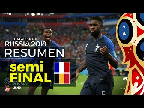 FRANCIA 1-0 BELGICA   Resumen • Analisis Tactico • Reacciones   Semifinal Mundial Rusia 2018