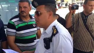 بوابة روزاليوسف| رجال الداخلية تستمع إلى شكاوى السائقين بعد تطبيق التعريفة الجديدة