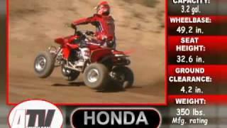 5. ATV Television Test - 2005 Honda TRX450R