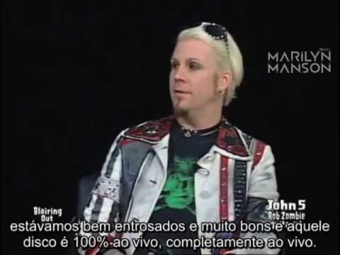 John 5 fala sobre o Manson (2012)