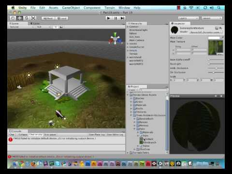 preview-#19 - Unity Game Engine - Painting Trees on Terrain Tutorial (TornadoTwins)