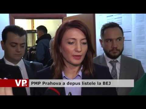 PMP Prahova a depus listele la BEJ