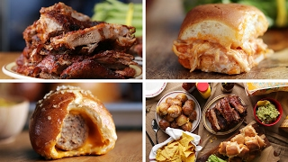 Game Day Spread: Ribs, Sliders, Pretzel Bombs by Tasty
