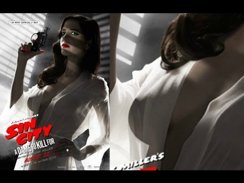 transparent dress - Sin City: A Dame To Kill For | Eva Green Hot Transparent Dress - The latest poster of the movie featuring Eva Green is in problem we hear. Eva green is looki...