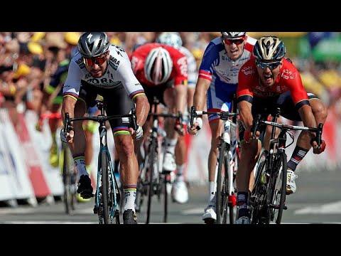 Tour de France: Weltmeister Sagan erobert Gelbes Trik ...