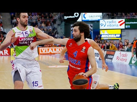 Highlights: Laboral Kutxa Vitoria-CSKA Moscow