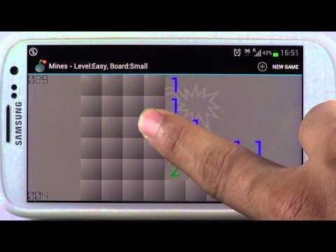 Video of Mines (Minesweeper)