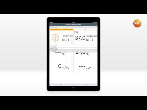 How To testo Smart Probes App. 09. Проверка эффективности работы системы вентиляции с 2-мя testo 605i