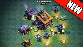 Video Clash of Clans - NEW BUILDER HALL 8 GAMEPLAY! MP3, 3GP, MP4, WEBM, AVI, FLV Oktober 2017