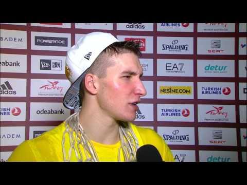 Post-game Interview: Bogdan Bogdanovic, Fenerbahce Istanbul