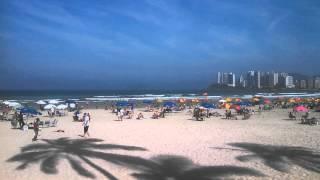 Domingo! Praia de Pitangueiras Guarujá TOP!!! Muito sol!!!