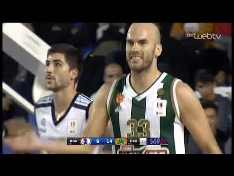 Basket League 2019-2020: ΚΟΛΟΣΣΟΣ-ΠΑΝΑΘΗΝΑΪΚΟΣ | 01/12/2019 | ΕΡΤ